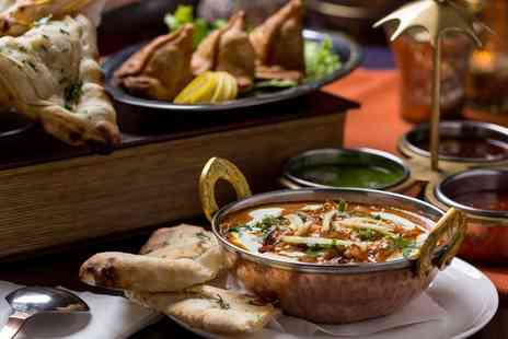Bengal Bite - Three Course Indian Meal With Sides For Two  - Save 60%