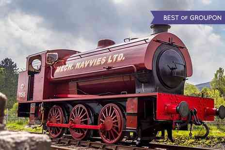 Pontypool and Blaenavon Railway -  Tickets for Two Adults to Pontypool and Blaenavon Railway Steam Train    - Save 32%