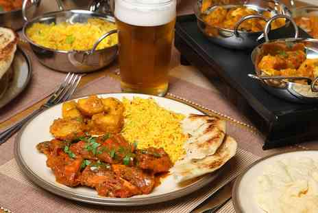 Haveli  - Two Course Indian Meal With Sides and Drinks   - Save 62%