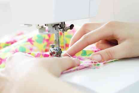 The Stitching Boutique - Beginners Sewing Class For One  - Save 0%