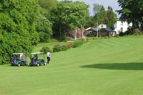 Priskilly Forest - Nine Holes Holes Plus Bacon Roll Each For Two  - Save 56%