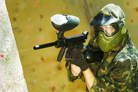 Black Ops Indoor Paintballing - Indoor Paintball With 100 Paintballs - Save 94%