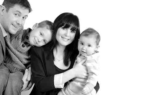 Dave Williams Photography - All About Mum Family Photoshoot With Framed Print and Keyrings   - Save 94%