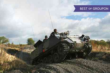 Tank Mania -  Choice of Two Hour Tank Experience  - Save 68%