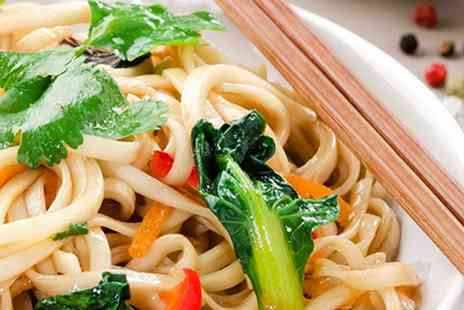 Noodle Cafe - Medium Noodle Box With Starter, Soup or Salad  - Save 50%