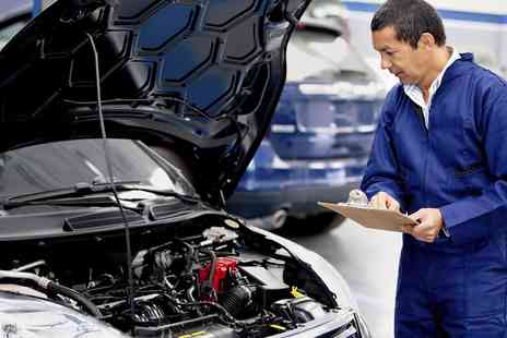 BOS VIP Consultants - Oil Change, Mechanical Inspection and Diagnostic Package with Discounted MOT Tests - Save 91%