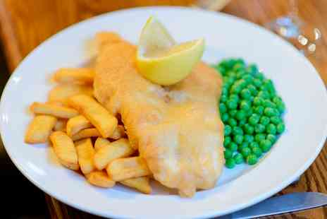 The Telford Arms - Fish and Chips With Drink For Two - Save 61%