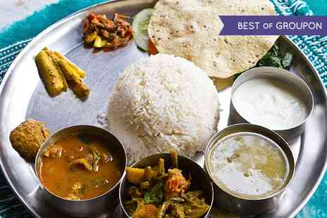 Rayleigh Spicy - Thali and Liqueur Coffee For Two - Save 0%