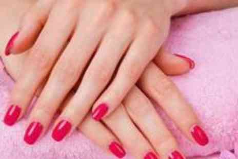 Diamond Nails and Beauty - Thai arm and hand massage plus a luxury manicure and pedicure - Save 76%