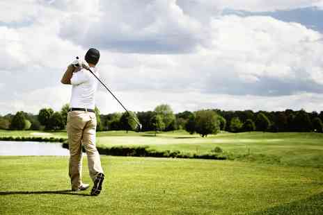 Bishopbriggs Golf Range - Golf Range Full Day of Golf Tuition - Save 72%