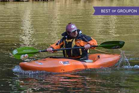 Way2Go Adventures - Canoeing or Kayaking Introduction Course For One - Save 0%