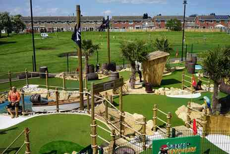 Pirate Adventure Golf Hull - Nine Golf  Hole Round For Two - Save 50%