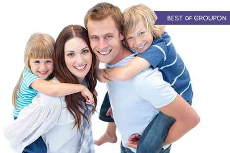 Studio No 1 - Family Photoshoot With Bubbly and Prints - Save 87%