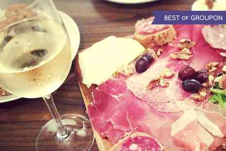 Veeno York - Wine Tasting With Italian Tapas Platter For Two - Save 52%
