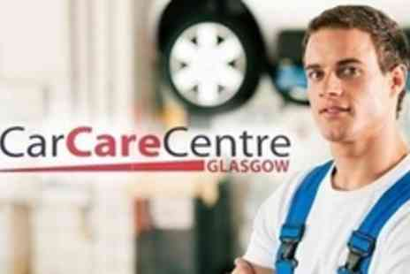 Car Care Centre - MOT and Service With Oil and Filter Change - Save 64%