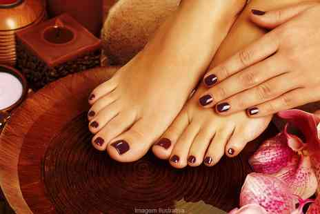 Enhance Cosmetic Clinic - Shellac Nails on Hands and Feet  - Save 0%