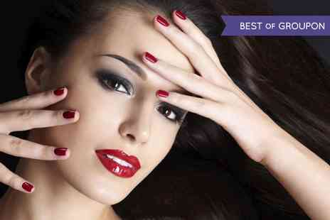 Scissorz Hair & Beauty - Shellac or Gelish Manicure or Pedicure or Both  - Save 55%