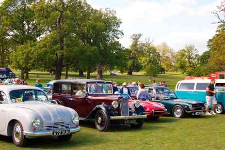 Gemini Events -  Entry  to The Bedfordshire Classic Motor Show  - Save 44%