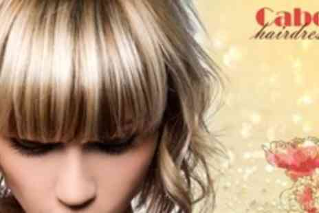 Cabello Hairdressing - Full Head Highlights With Cut, Wash, Blow Dry and Conditioning Treatment - Save 58%