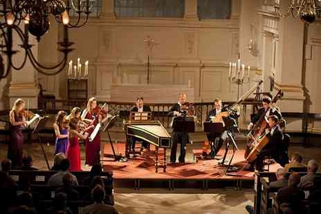 CMG Promotions  - Ticket  to London Concertante Performs Vivaldis Four Seasons  - Save 43%