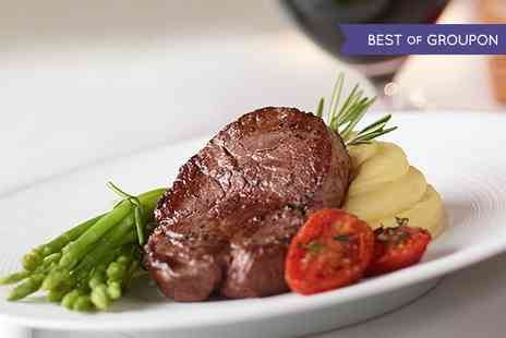 Abari Restaurant - Two Course Steak Meal With Wine For Two - Save 52%