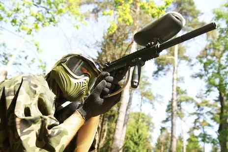 Allout Adventures - Paintballing For Six With Lunch  - Save 96%