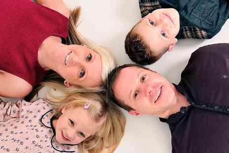 Ideal Photos - Family Photoshoot With Three Prints  - Save 0%