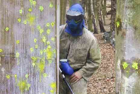 Scotch Corner Paintball Village - Paintballing For Six With Lunch and 100 Rounds Each - Save 0%
