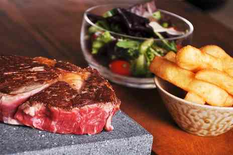 1815 Bar & Grill - Black Rock Steak Meal For Two - Save 53%
