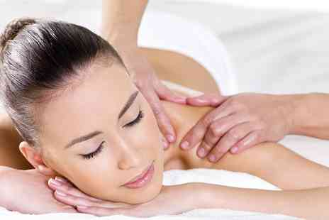 YK Hair & Beauty - One Hour Massage With Facial Plus Gel Manicure  - Save 0%