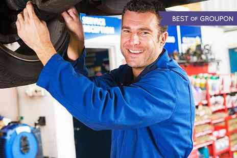 Triumph Road tyres - Wheel Alignment Package,54-Point Inspection or Full Service  - Save 66%