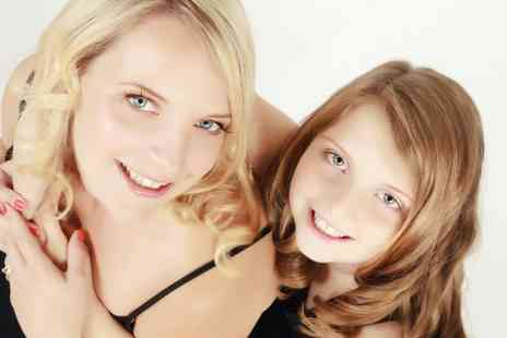 Studio8Experience - Mother and Daughter Makeover Photoshoot With Prints - Save 0%