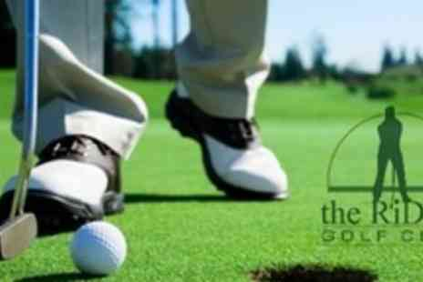 The Ridge Golf Club - Four Golf Lessons With PGA Professional - Save 58%