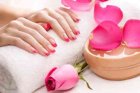 bounce hair and beauty - Manicure or Pedicure or Both Plus Gellux Polish  - Save 60%