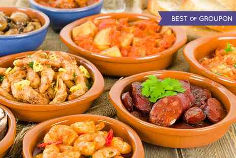 Beach View Restaurant - Tapas and Sangria For Two  - Save 63%
