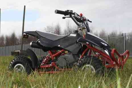 STO Racing Products - 50cc Street Assassin Petrol Quad Bike - Save 37%