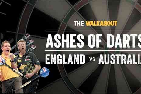 Alchemy Promotions - Standing Ticket  to The Ashes of Darts Tour  - Save 52%