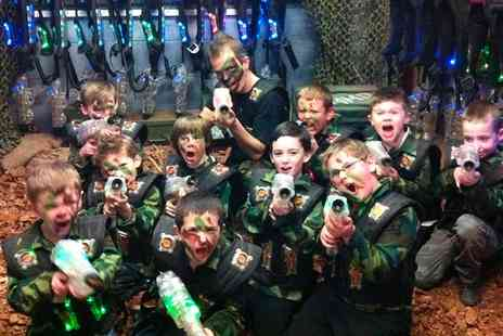 Laser Kombat - Two Laser Tag Games For Two - Save 0%