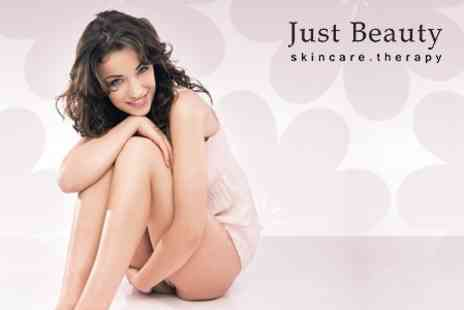 Just Beauty Skincare Therapy - Six Sessions of LHE Hair Removal on Two Small or One Medium Area, such as Half Leg  - Save 86%