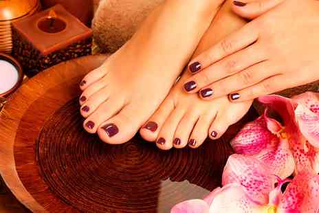 Glow Tanning - Shellac For Fingers or Toes  - Save 0%