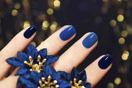 Gems Hair and Beauty Salon - Gellux Manicure or Pedicure - Save 0%