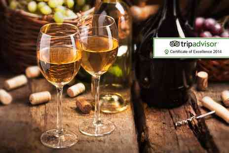 Sedlescombe Organic Vineyard - Wine tasting and lunch for Two   - Save 39%