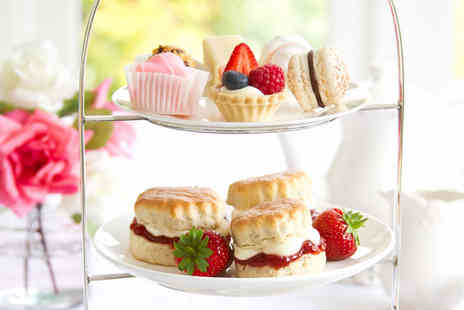 Lady Lavender - Afternoon tea for 2  including sandwiches, cakes and scones - Save 56%
