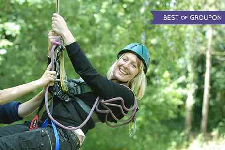 Marwell Activity Centre -  Aerial Adventure Course or Archery - Save 50%
