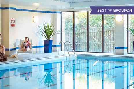 The Hampshire Court Hotel - Spa Pass For Two With Refreshments   - Save 0%