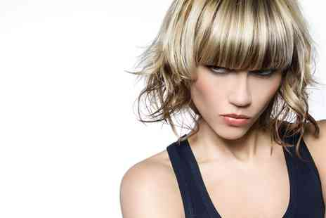 Contrast Hairdressing - Mens or Womens Cut and Finish Plus Colouring - Save 50%