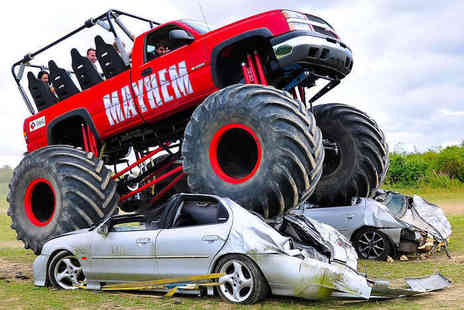 Wicked Adventure - Monster Truck Ride Experience  - Save 52%