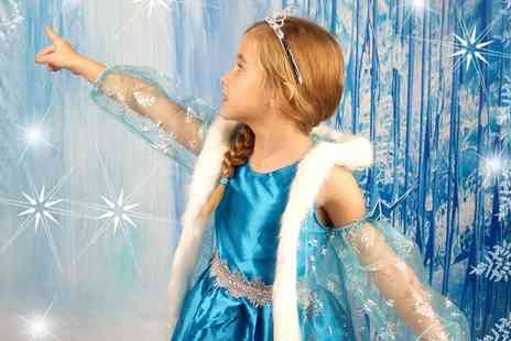 Future Earth Photography - Ice Princess Themed Photoshoot With Print   - Save 50%