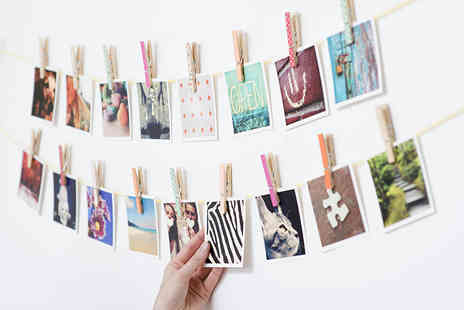 Sticky9 - 27 Premium Matt Square Photoprints in a Choice of Medium  - Save 36%