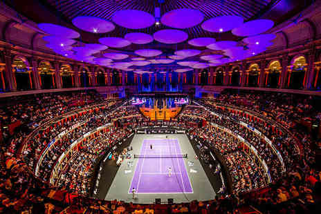 Champions Tennis - Ticket to Champions Tennis at the Royal Albert Hall 2015 - Save 50%